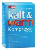 Kalt Warm Kompresse 16x26cm Wepa