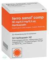 Ferro Sanol comp. Kapseln