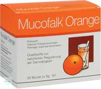 Mucofalk Orange Granulat Beutel