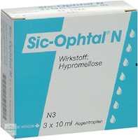 Sic Ophtal N Augentropfen (3x10 ml)