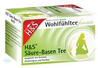 H&S Wohlfühltee feminin Säuren- Basentee Filterbeutel