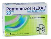 Pantoprazol HEXAL bei Sodbrennen 20 mg magensaftresistente Tabletten