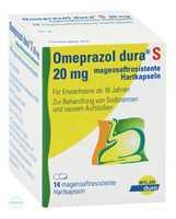 Omeprazol Dura S 20 mg Kapseln magensaftresistent