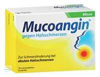 Mucoangin gegen Halsschmerzen Minze Lutschtabletten