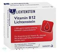 Vitamin B12 Lichtenstein 1000 µg Ampullen (10 x 1 ml)