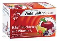 H&S Früchte mit Vitamin C Filterbeutel