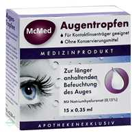 McMed Augentropfen (15x0.35 ml)