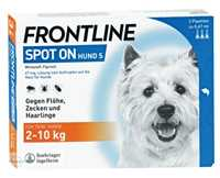 FRONTLINE Spot on H 10 vet. Loesung