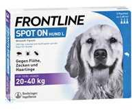 FRONTLINE Spot on H 40 vet. Loesung