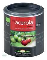 Acerola 100% Bio pur natürliches Vitamin C Pulver