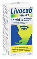Livocab Direkt Kombi 4 ml Augentropfen und 5 ml Nasenspray