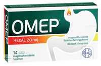 Omep Hexal magensaftresistente Tabletten