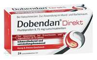 Dobendan Direkt Flurbiprofen 8,75 mg Lutschtabletten