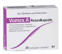 Vomex A Retard Kapseln