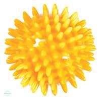 Massageball Igel gelb 8cm Param