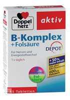 Doppelherz aktiv B-Komplex + Folsäure DEPOT Tabletten