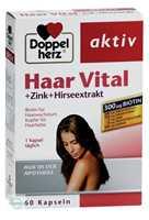 Doppelherz aktiv Haar Vital + Zink + Hirseextrakt Kapseln