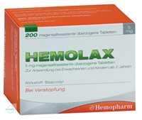 Hemolax 5 mg überzogene Tabletten