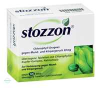 Stozzon Chlorophyll Dragees