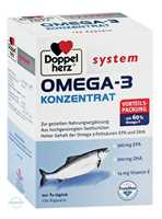 Doppelherz System Omega 3 Konzentrat Kapseln