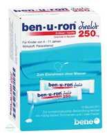 Benuron direkt Erdbeer/Vanille 250 mg Granulat in Beuteln