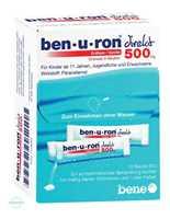 Benuron direkt Erdbeer/Vanille 500 mg Granulat in Beuteln