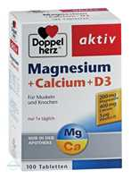 Doppelherz aktiv Magnesium + Calcium + D3 Tabletten