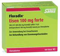 Floradix Eisen 100 mg forte Filmtabletten