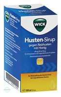 Wick Husten Sirup gegen Reizhusten mit Honig