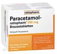Paracetamol Ratiopharm 500 Brausetabletten