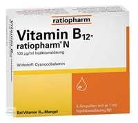 Vitamin B12 Ratiopharm 10 µg Tabletten