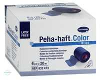 Peha Haft Fixierbinde latexfrei 6 cmx20 m blau