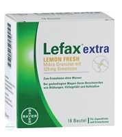 Lefax extra Lemon Fresh Mikro Granulat Beutel