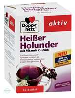 Doppelherz aktiv Heißer Holunder mit Vitamin C+Zink Granulat Beutel