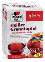 Doppelherz aktiv Heißer Granatapfel+Sanddorn+Acerola Granulat Beutel