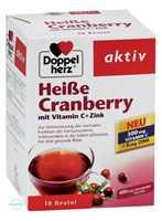Doppelherz aktiv Heiße Cranberry mit Vitamin C+Zink Granulat Beutel