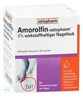 Amorolfin Ratiopharm 5% wirkstoffhaltiger Nagellack