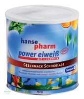 Hansepharm Power Eiweiß Plus Schokolade Pulver