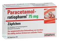 Paracetamol Ratiopharm 75 mg Zäpfchen