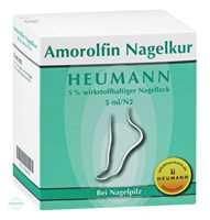 Amorolfin Nagelkur Heumann 5 % wirkstoffhaltiger Nagellack