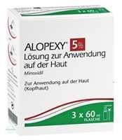 Alopexy 5% Lösung zur Anwendung auf der Haut (3x60 ml)