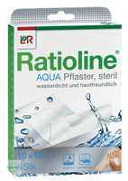 Ratioline aqua Duschpflaster Plus 10x15 cm steril transparent
