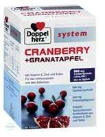 Doppelherz System Cranberry+Granatapfel Kapseln