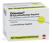 Ciclocutan 80 mg/g wirkstoffhaltiger Nagellack